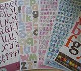 Buchstaben für Scrapbooking und Stempeln – Teil 4