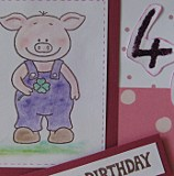 Eine schnelle Geburtstagskarte