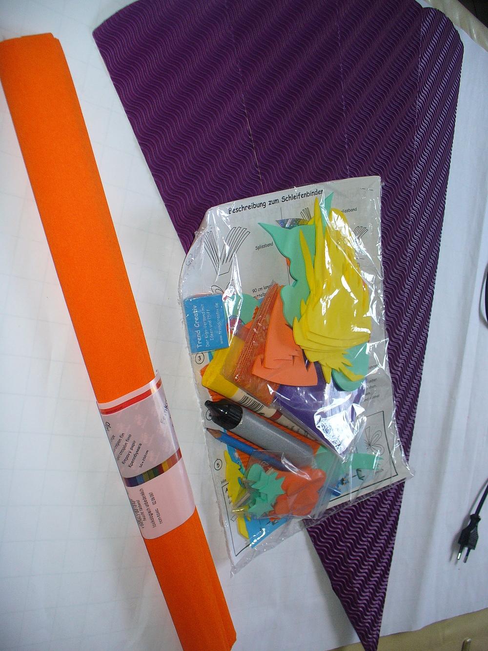Endlich fertig: Schultüte für unseren ABC-Schützen