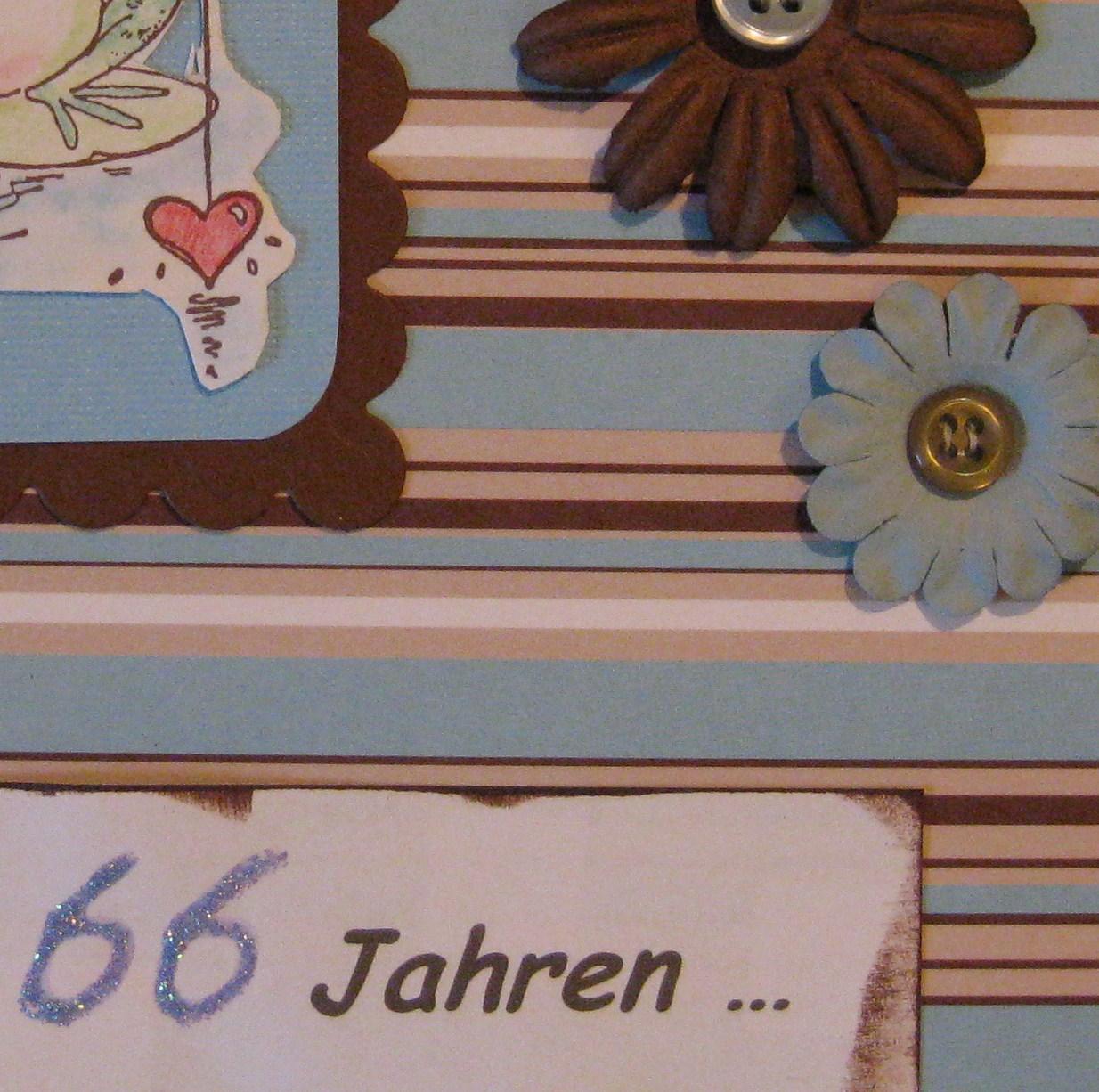 Mit 66 Jahren…