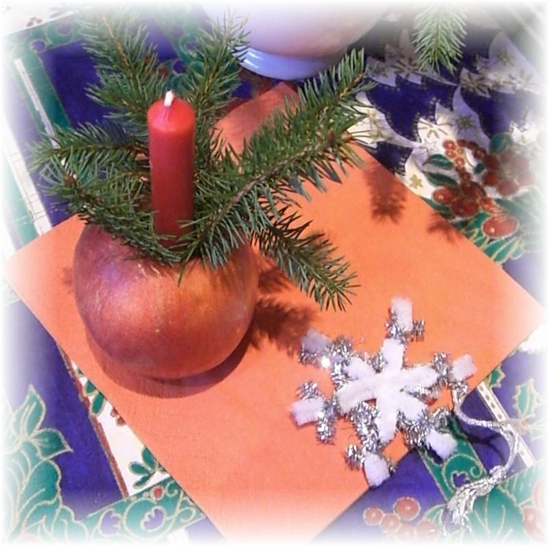 Advent und Kerzenschein