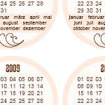 Kalender-Tags zum verscrappen …
