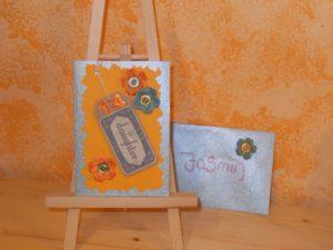 Geburtstagskarte für Jasmin