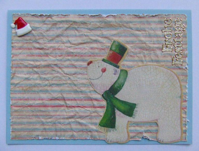 Weihnachtskarte die Zweite.