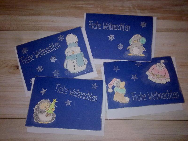 Weihnachtskarten – welche soll ich nehmen