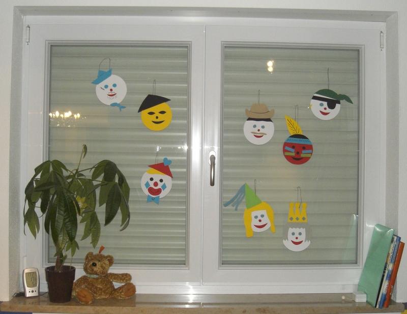 Faschingsdeko für Kids