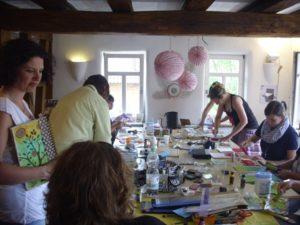 Workshop-Samstag in der Scrapbook-Werkstatt