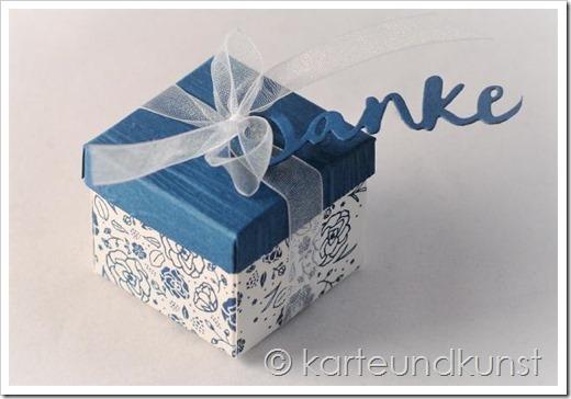Kleines Dankeschön in der Box