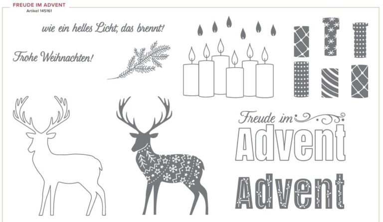 Gratis-Stempelset Freude im Advent