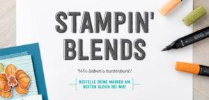 Stampin Blends – Die Welt wird farbenfroh