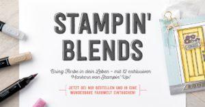 Stampin' Blends – Marker zum Colorieren & Set Farbenfroh
