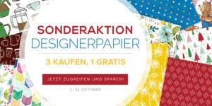 Sonderaktion Designerpapier…