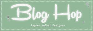 Blog Hop — DIY: Designerpapier selbstgemacht