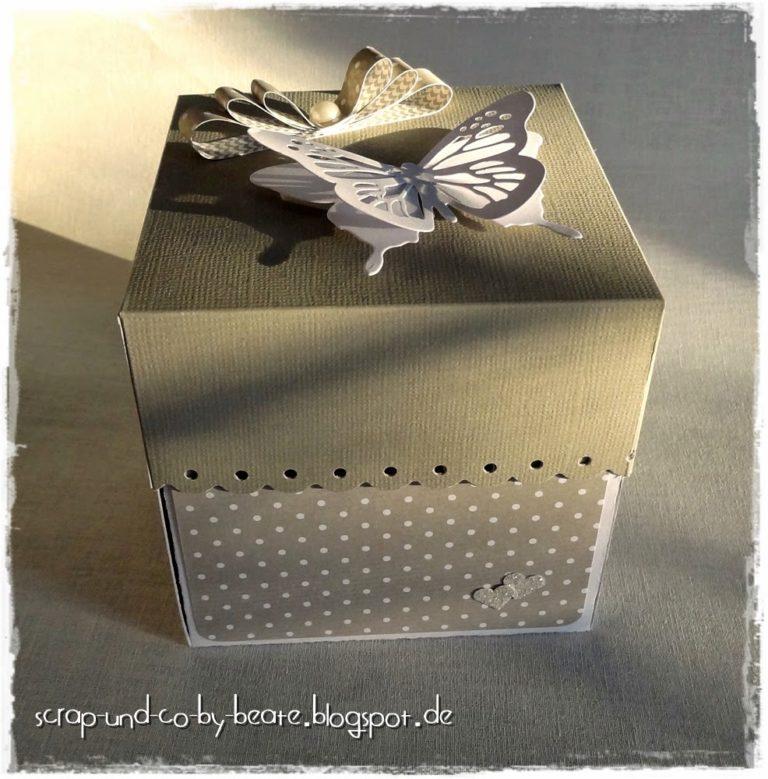 Explosionsbox zur Hochzeit #2