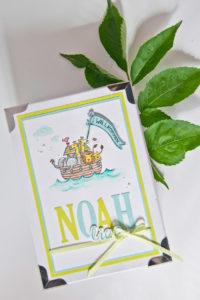 Erinnerungsschachtel für den kleinen Noah