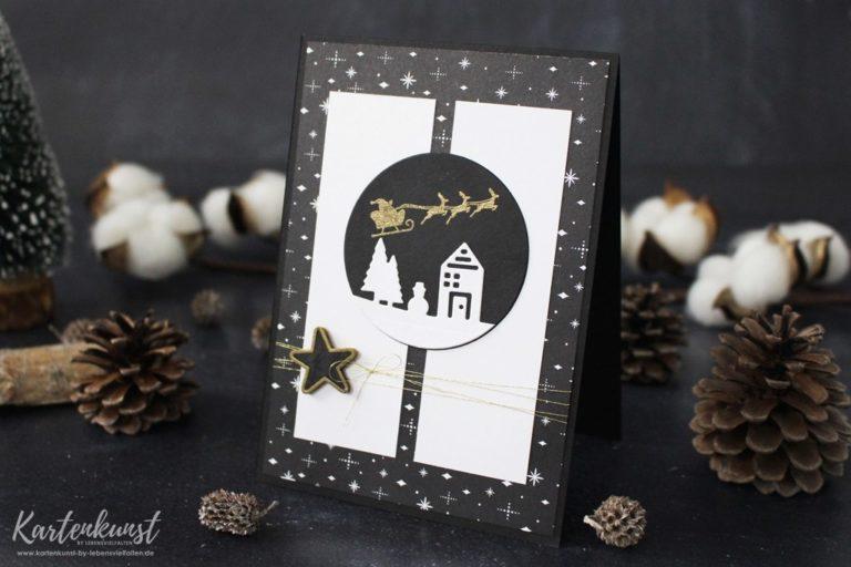 Weihnachtskarte mit Weihnachten Daheim
