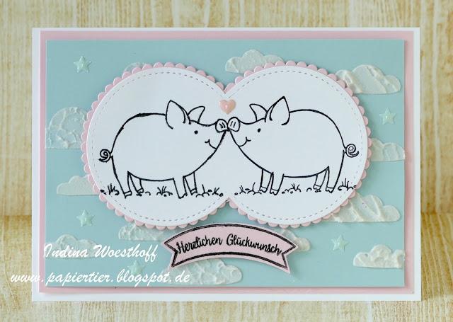 Hochzeitsschweine mit Anleitung