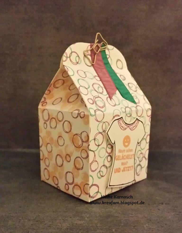 Blog Hop Verpackungen für kleine Geschenke