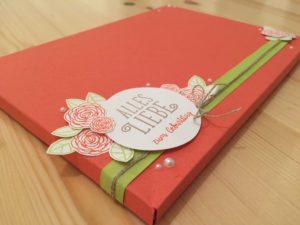 Gutscheinverpackung zum Geburtstag