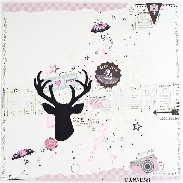 Mixed Media oder Art Journal – Layout