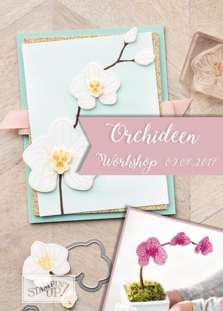Orchideen Workshop – So. 09.07.2017