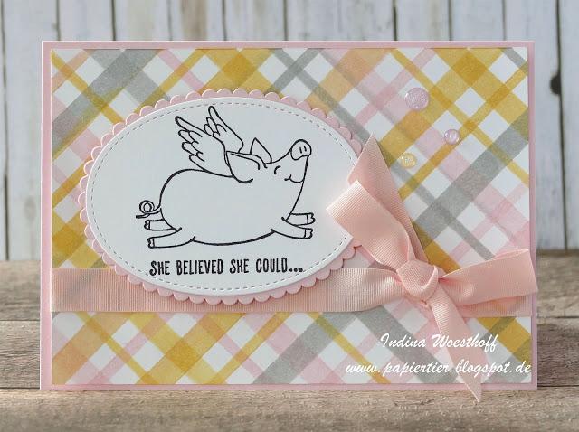 Schweine mit Flügeln — She believed she could…