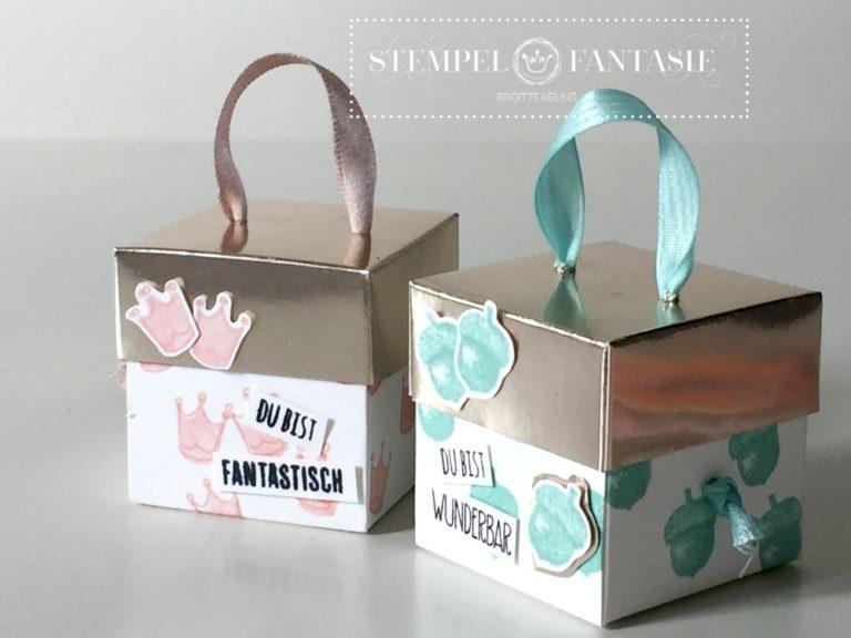 Video-Tutorial zur quadratischen Henkel-Box