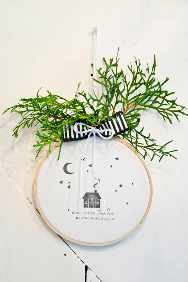 Eine süße schnelle Weihnachts-Deko