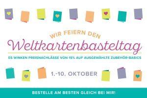 Im Oktober ist ganz schön was los… WELTKARTENBASTELTAG