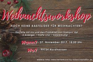 Weihnachtsworkshop 2017