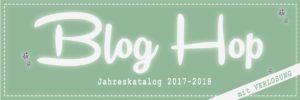 Blog Hop Jahreskatalog 2017-2018