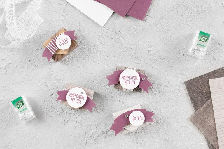 Mini-Verpackungen in Feige – Be Inspired