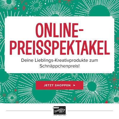 Online-Preisspektakel bei Stampin' Up!