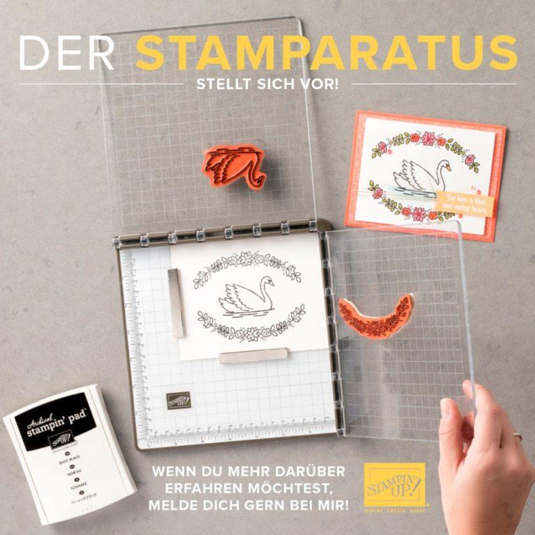 Stampin' Up Stamparatus – Reserviere dir dein Exemplar ab dem 16.11.