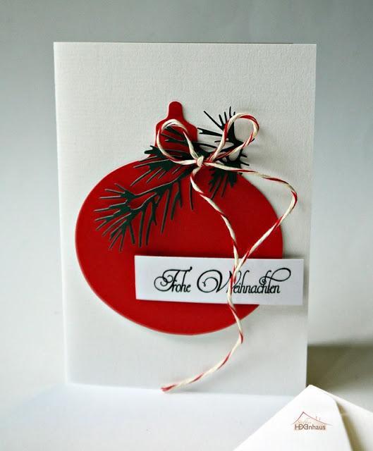 Weihnachtskarten-Set