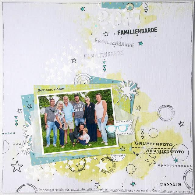 Fürs Familien Fotoalbum und Tschüss…