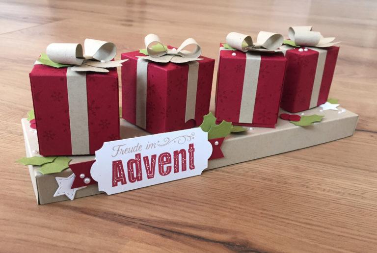 Anleitung kleine Adventsgeschenke