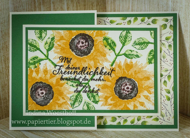 Herbstanfang — Joy Fold Card mit Anleitung