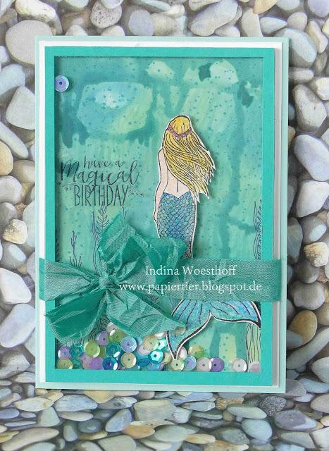 Magical Mermaid — Schüttelkarte