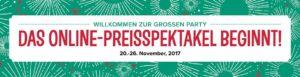 Online-Preisspektakel 2017 – Rabatte bis 40%