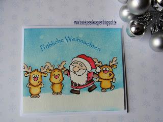 3. Weihnachtskarte – DT Post Stempellädle