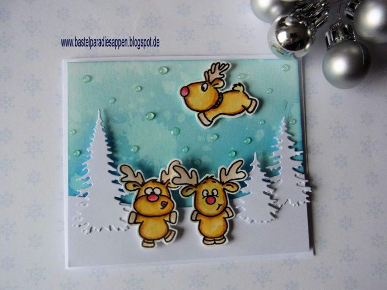 DT Stempellädle- Weihnachtskarte Nr. 2