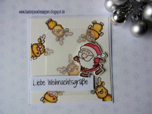 DT Stempellädle – Weihnachtskarte Nr.1