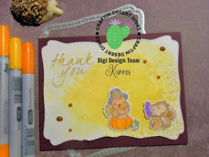 DT Post für Craftin Desert Divas – Thank you
