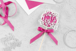 Cake-Topper – Happy Birthday
