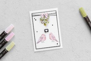 Adventsgrün & Farbenfroh – Stampin' Blends
