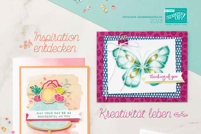 Frühjahr-/ Sommerkatalog & Sale-a-Bration 2018