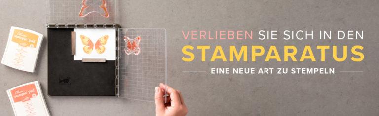 Vorbestellung des Stamparatus – Positionieren & Vereinfachen