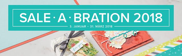 Willkommen zur Sale-a-bration 2018!