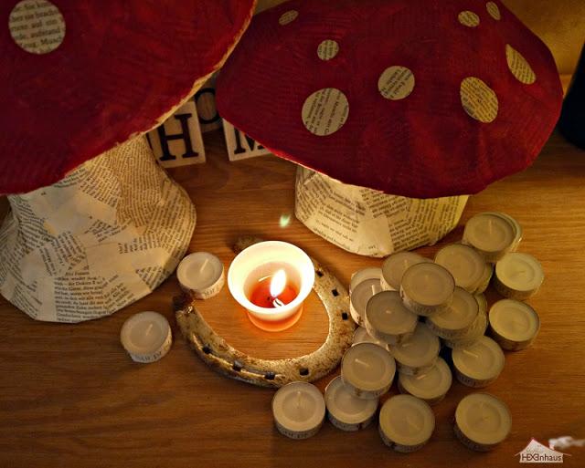 Orakel-Teelichter zu Silvester
